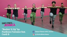"""Dance Tips - Video : """"Backin It Up"""" by Pardison Fontaine Ft Cardi B - Dance Fitness With Jessica - Virtual Fitness Dance Tips, Dance Fitness, Your Girlfriends, Cardi B, Total Body, Aerobics, Zumba, Music Publishing, Workout Videos"""