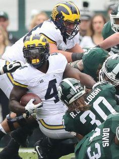 Michigan Wolverines RB De'Veon Smith