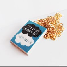 Hey, I found this really awesome Etsy listing at https://www.etsy.com/listing/192081886/the-fault-in-our-starss-mini-book