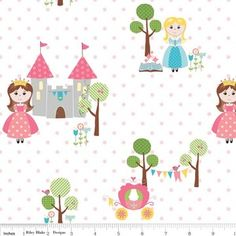 Sandra Workman Designs - Happy Ever After - Princess in Pink