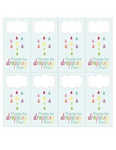 shower of love | FREE April Showers Party Printables :: Free Printables | Love Every ...