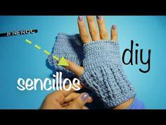 Cómo tejer guantes fácil y rápido #Ganchillo #Crochet Gloves #DIY - YouTube