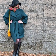 Уютное пальто цвета Biscay Bay / Фотофорум / Burdastyle