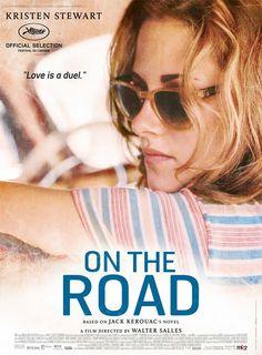 """O novo cartaz de """"On the road"""", de Walter Salles, com Kristen Steward."""