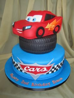CARS By SweetDiscoveries on CakeCentral.com