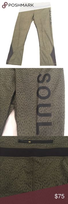Lululemon Green Crops Lululemon Green Crops. These are amazingly comfortable on! I wouldnt sell them but they are a bit too big on me. Only worn twice. Size 8 lululemon athletica Pants Leggings