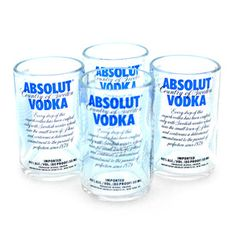 Absolut Shot Glass Set, $27, now featured on Fab.
