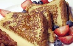 Siete desayunos saludables para diabéticos: Tostadas francesas sin azúcar añadida