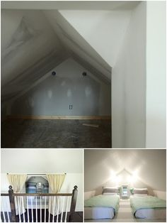 Amazing attic renovation! Turn an old, ugly, unused space into an awesome guest apartment complete with their own bathroom!