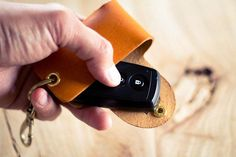 Leather Smart Key Case - Image 3