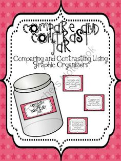 Compare and Contrast Jar for Workstations product from aimeev on TeachersNotebook.com