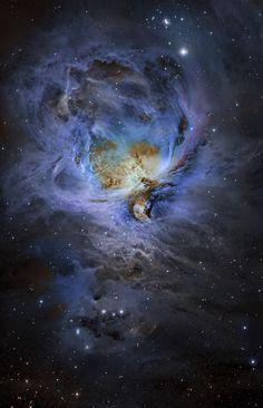 M42 Orion Nebula in Narrowband Credit: (moonrocks) | AstroBin