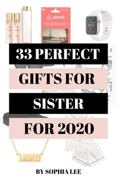 the best gifts for sisters 2020
