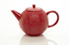 RED TEAPOT 40 OZ.   Yedi Houseware