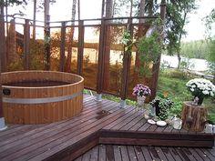 kylpytynnyri ja terassi