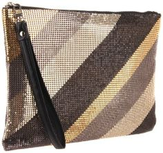 Amazon.com: BCBG Roxy PKO321EM Clutch,Metal Combo,One Size: Shoes