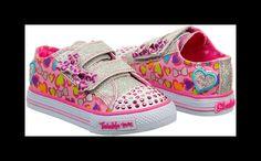 Skechers Kids' Twinkle Toes Glitter N' Glow Sneaker Toddler/Preschool Shoe