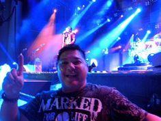 VIP seats front row Journey concert in Atlanta