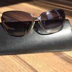 Fendi sunglasses Fendi sunglasses-excellent condition, wore one season-no scratches, I had to get prescription sunglasses so I can read in the sun! Fendi Accessories Sunglasses