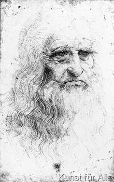 Leonardo nach da Vinci - Self portrait