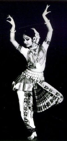 Classical pose by a classic dancer from India