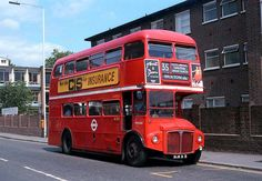 RM 2008 (ALM 8B) London Transport, Public Transport, Bus City, Old Lorries, Luxury Bus, Routemaster, Buses And Trains, Double Decker Bus, Bus Coach