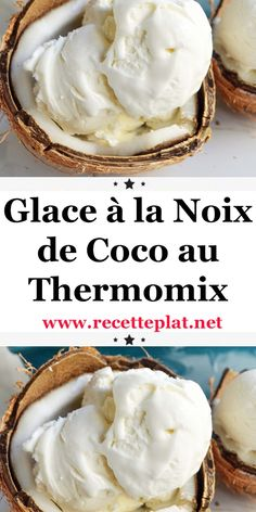 Thermomix Desserts, Cooking Chef, Homemade Ice Cream, Nutella, Deserts, Food And Drink, Favorite Recipes, Nutrition, Healthy Recipes