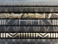 Art Deco Wallpaper (Adore Home magazine - Blog - Catherine Martin & Mokumcollaboration)