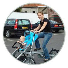 Taga cykel klapvogn