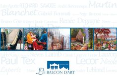 Le Balcon D'art: 30 ans en art, un célébration  | A celebration of 30 years  le 25 octobre | 25 october | 2015  Le Balcon D'art |  Catalogue Exposition | Art Exhibition Catalog