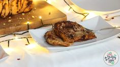 """The best christmas breakfast you can imagine!! A sweet pull apart-bread with a flavour of a really famous Hungarian cake called """"gerbeaud""""."""