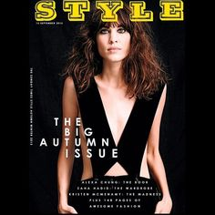 Alexa Chung Covers the Sunday Times