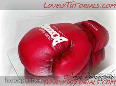 Boxing Glove Cake tutorial