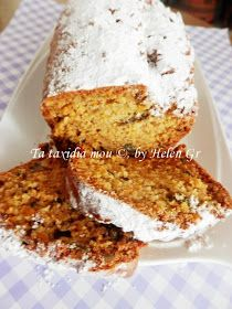 Greek Sweets, Greek Desserts, Greek Recipes, Pureed Food Recipes, Dessert Recipes, Cooking Recipes, Light Cakes, Cooking Cake, Sweets Cake