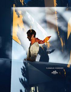 Hermès : Flâneur Forever pub presse  Hermes Flaneur Forever Collection Printemps France Mode 2015 Pub Publicité Video Ad Advertising TBTC G Communication 12