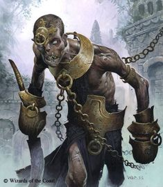 i once had a dream where this protagonist was in a game world and this exact character was locked up in it's cage ( because this was one of the major monsters) the protagonist had to fight