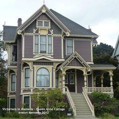 Victorians in Alameda - Queen Anne Cottage