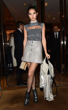 Doina Ciobanu in Louis Vuitton