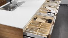 Organizar los utensilios de uso frecuente