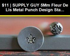 5mm Baseball Metal Punch Design Jewelry Stamp