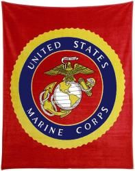 Marine Polar Fleece Throw Blanket 50   USMC Camo  Desert Marpat Queen Duvet  perfect if decorating a  . Marine Corps Themed Room. Home Design Ideas