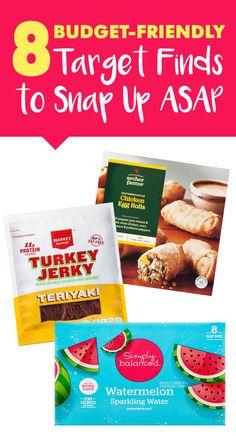 251 best spotted on shelves images on pinterest 8 healthy target finds snacks meal starters more forumfinder Image collections