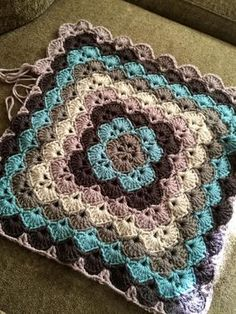 "This is a gorgeous and popular pattern that has been circulating around for years, written and re-written by many people, in this re-write I have used all American English crochet terminology, using ""modules"" of stitches to make it easier to understand the construction of the pattern. This is a really fun and easy pattern once you get the hang of it, and it works up quickly to make a really sweet gift for a baby or just about anyone…who doesn't love a hand made soft snugly blanket? :) […"
