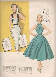 Modes Royale Spring/Summer 1953 patterns 1150 & 1151