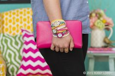 DIY watches are simple to create and can transform an everyday outfit from drab to fab!