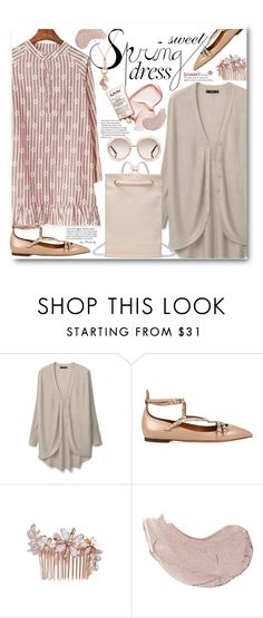 """""""Sweet Spring Dresses"""" by beebeely-look ❤ liked on Polyvore featuring MANGO, Valentino, Camilla Christine, Chloé, Spring, dress, floralprint, sammydress and springdress"""