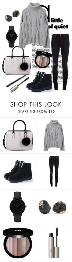 """""""Casual winter"""" by secret-girl02 ❤ liked on Polyvore featuring GUESS, Closed, CLUSE, Dara Ettinger, Edward Bess, Ilia and MAC Cosmetics"""