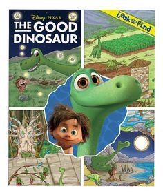 Look what I found on #zulily! The Good Dinosaur Look and Find Hardcover #zulilyfinds