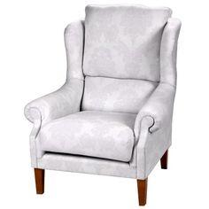 Sessel - Der Sessel in klassischer Form hat ein zart scheinendes Ornamentmuster und wirkt damit äußerst elegant. - ab 772,90€