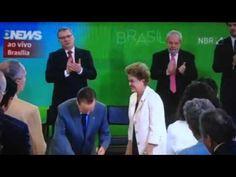 A CANETADA DO BANDIDO LULA (Brasilia) 17-03-2016